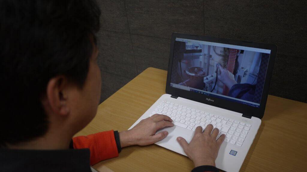 パソコン【遠隔作業支援スマートグラスSynchroAZ(シンクロアイズ)】